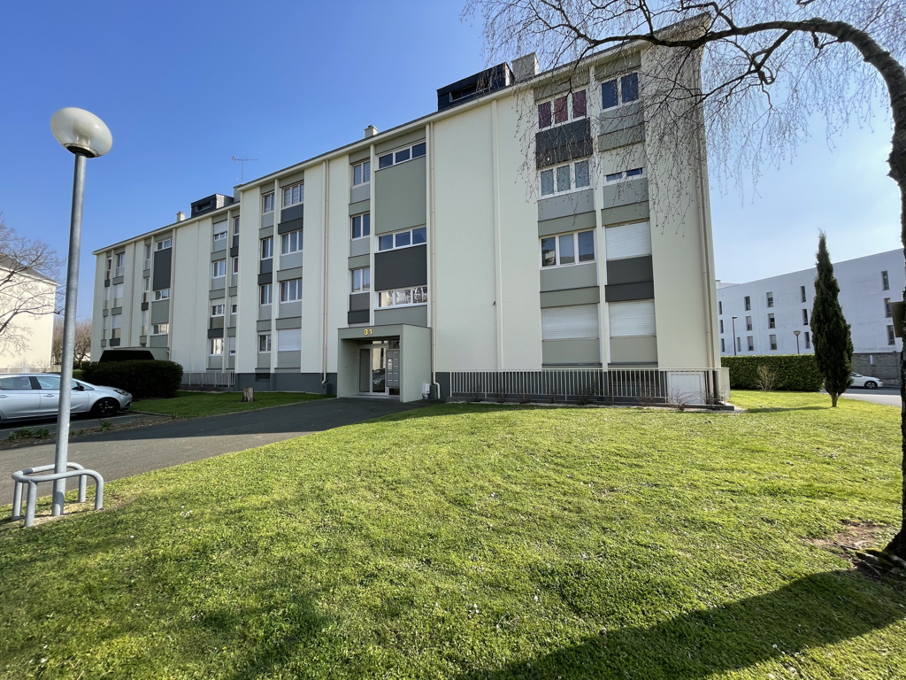 Appartement Angers 2/3 Chambres, cave et parking